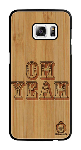 Bamboo Wood Sameer Fudd*** Edition For Samsung galaxy s7 Edge