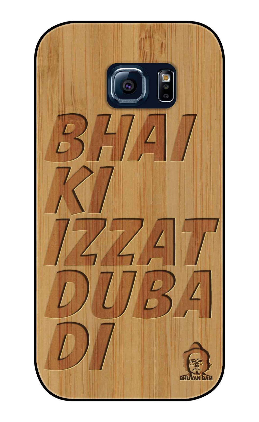Bamboo Wood Izzat Edition For samsung galaxy S6 Edge
