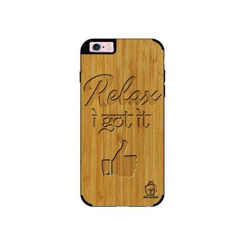 Bamboo Wood Sameer Edition For I Phone 6/6s