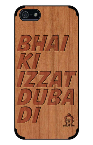 Cherry Wood Izzat Edition for I Phone 5/5s