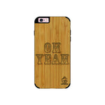 Bamboo Wood Sameer Fudd*** Edition for I Phone 6/6s