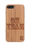 Bamboo Wood Sameer Fudd*** Edition  For I phone 7 plus