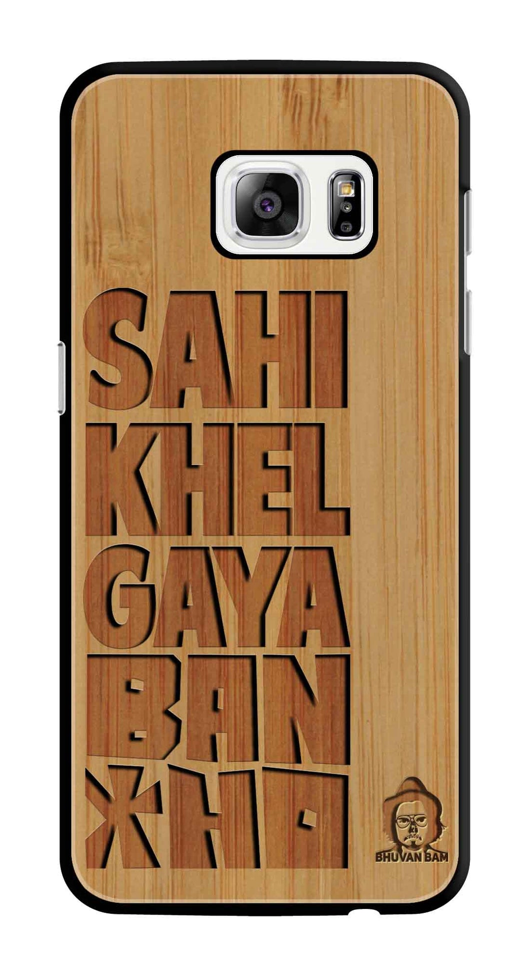 Bamboo Wood Bancho Edition For S7 Edge