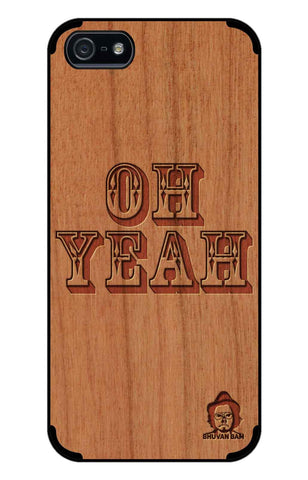 Cherry Wood Sameer Fudd*** Edition for I Phone 5/5s