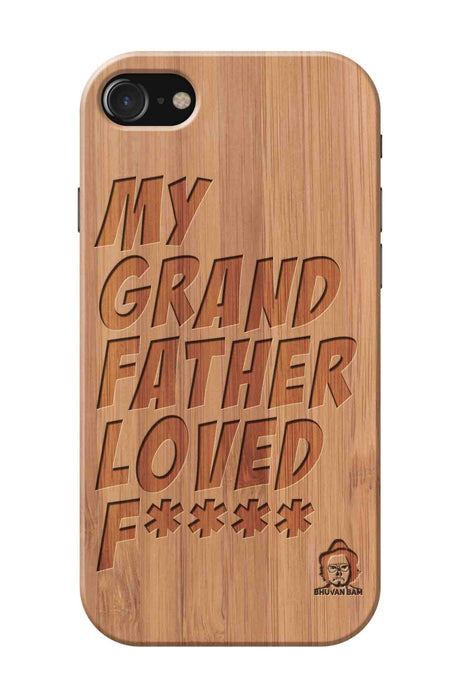 Bamboo Wood Sameer Fudd*** Edition for I Phone 7