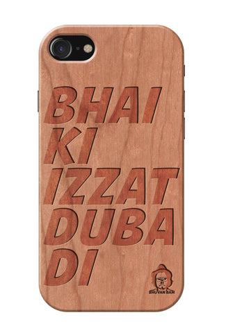 Cherry Wood Izzat Edition for I Phone 7