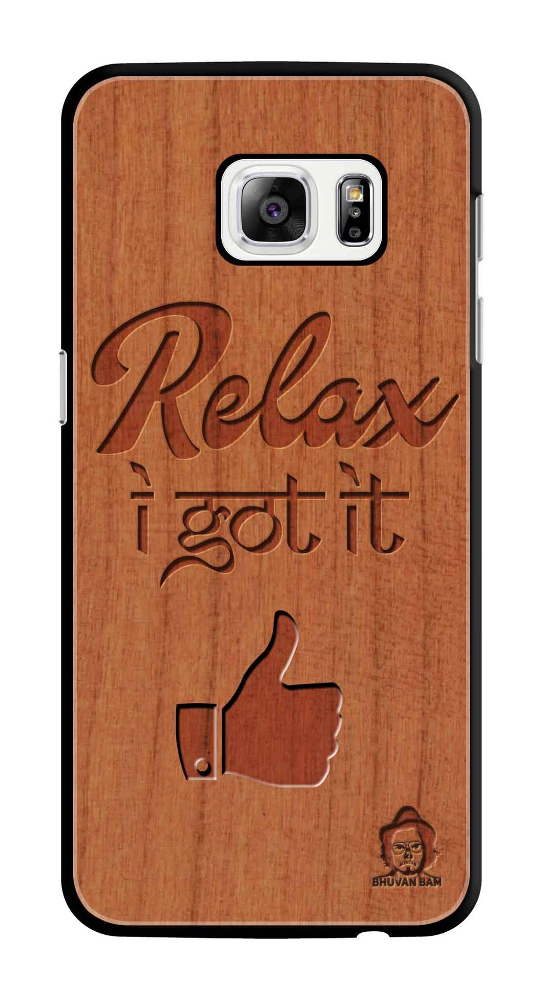 Cherry Wood Sameer Edition for S7 Edge