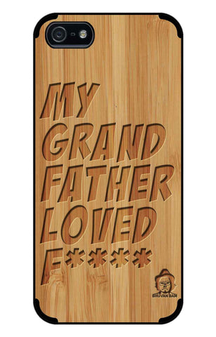 Bamboo Wood Sameer Fudd*** Edition for I Phone 5/5s