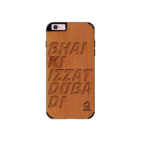Cherry Wood Izzat Edition for I Phone 6/6s