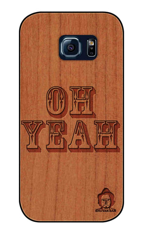 Cherry Wood Sameer Fudd*** Edition For Samsung s6 Edge