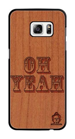 Cherry Wood Sameer Fudd*** Edition For Samsung galaxy s7 Edge