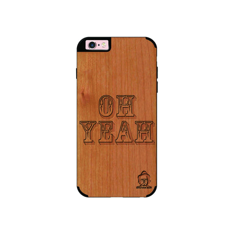 Cherry Wood Sameer Fudd*** Edition for I Phone 6/6s