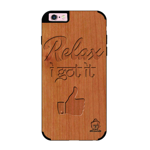Cherry Wood Sameer Edition for I Phone 6/6s Plus