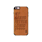 Cherry Wood Sameer Fudd*** Edition For I phone 6/6s plus