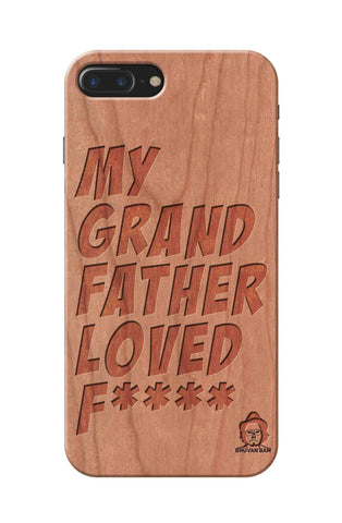 Cherry Wood Sameer Fudd*** Edition For I phone 7 plus
