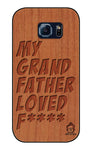 Cherry Wood Sameer Fudd*** Edition For Samsung galaxy s6 Edge