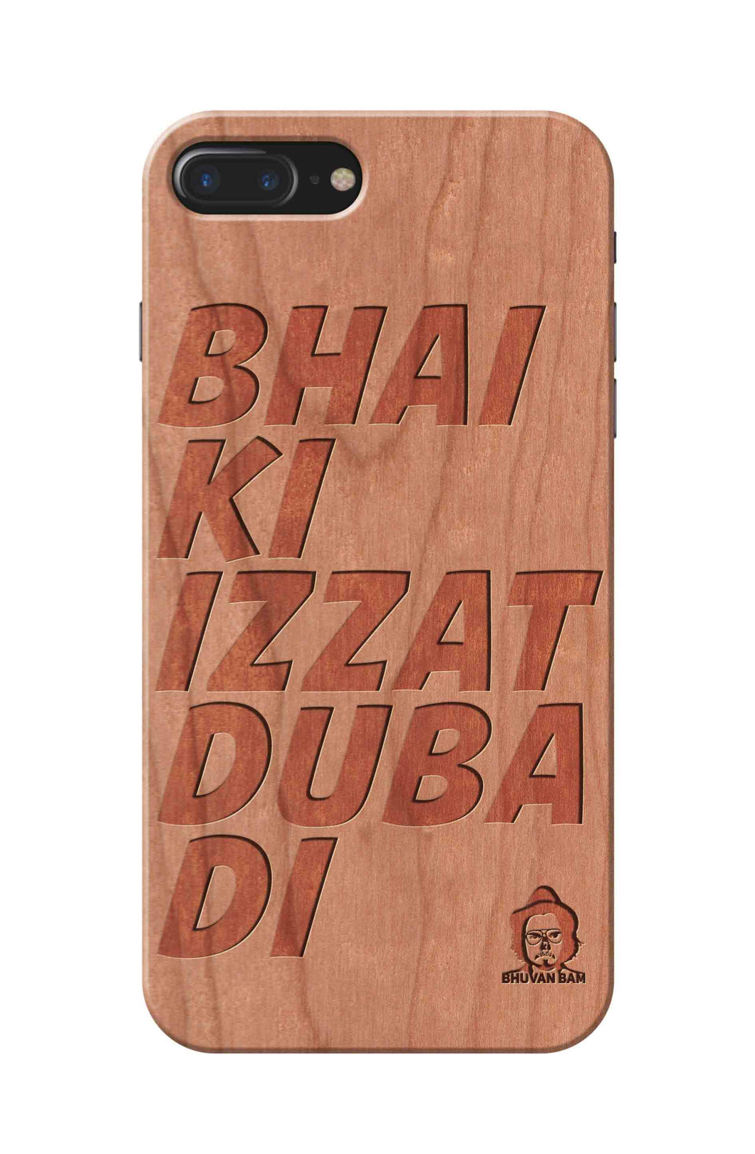 Cherry Wood Izzat Edition for I phone 7 plus