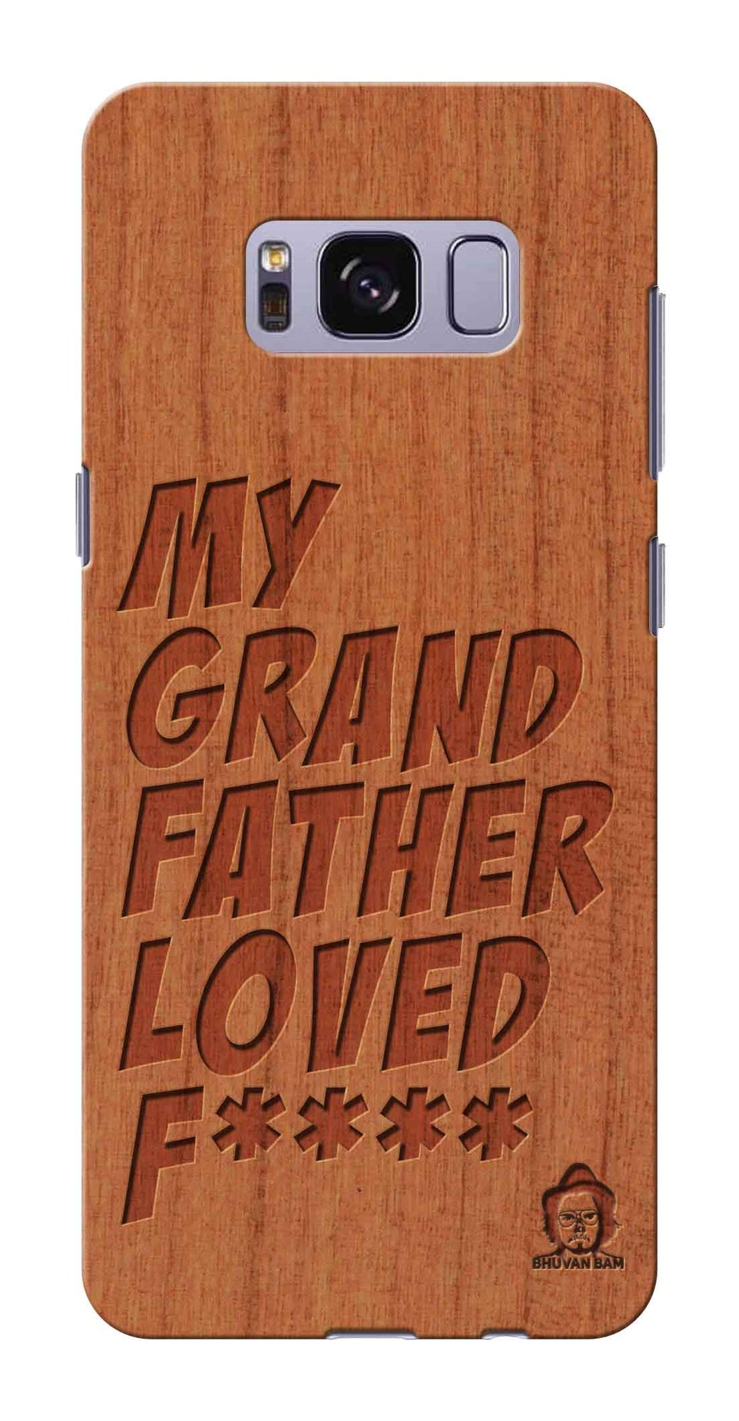 Cherry Wood Sameer Fudd*** Edition for Samsung galaxy s8 plus