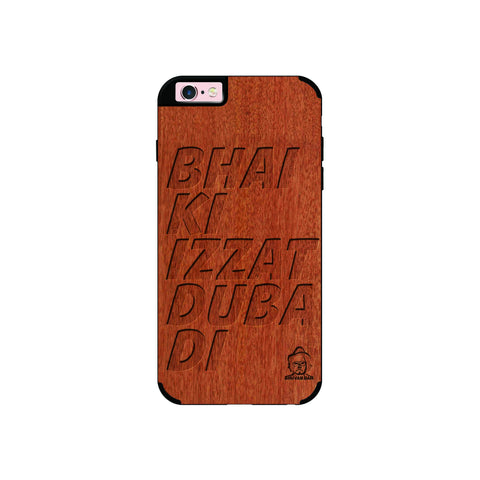Rose Wood Izzat Edition for I Phone 6/6s