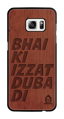 Rose Wood Izzat Edition For samsung galaxy s7 edge