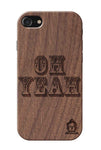 Wallnut Wood Sameer Fudd*** Edition for I Phone 7