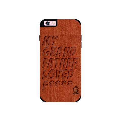 Rose Wood Sameer Fudd*** Edition for I Phone 6/6s
