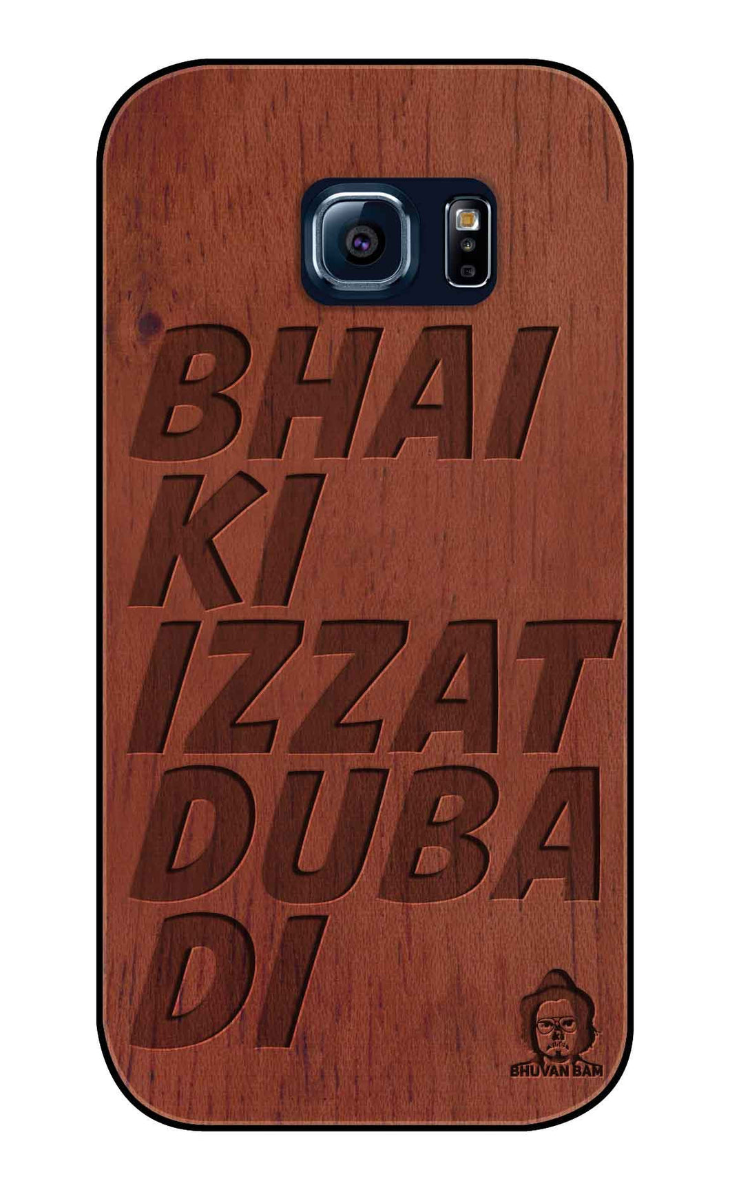 Rose Wood Izzat Edition For samsung galaxy S6 Edge