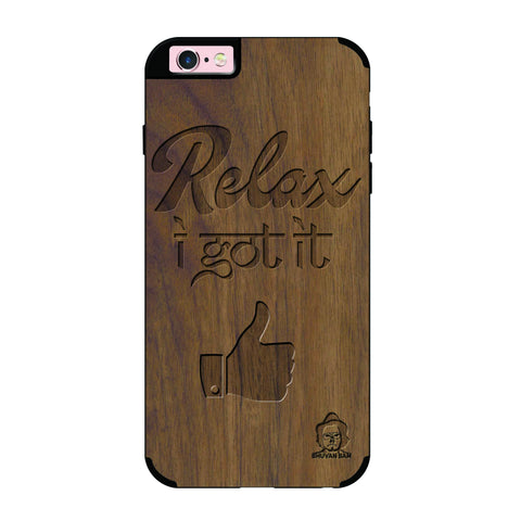 Wallnut Wood Sameer Edition for I Phone 6/6s Plus