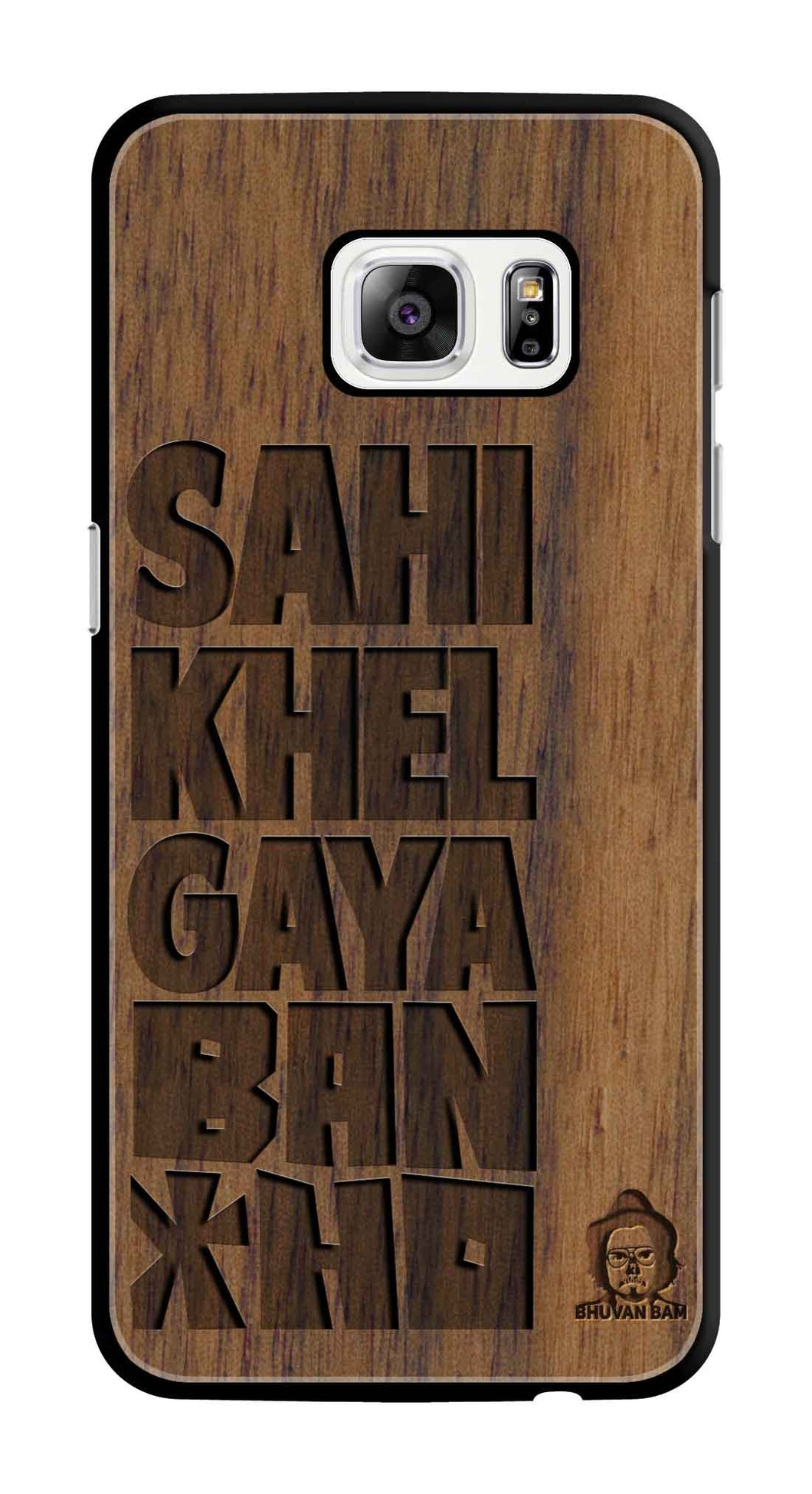 Wallnut Wood Bancho Edition For S7 Edge