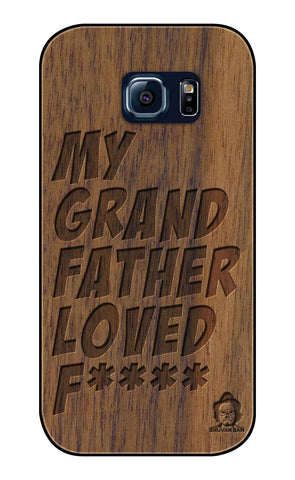 Wallnut Wood Sameer Fudd*** Edition For Samsung galaxy s6 Edge