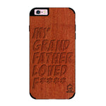 Rose Wood Sameer Fudd*** Edition For I phone 6/6s plus