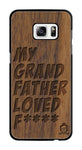 Wallnut Wood Sameer Fudd*** Edition for samsung galaxy s7 Edge