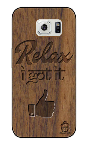 Wallnut Wood Sameer Edition for S6 edge