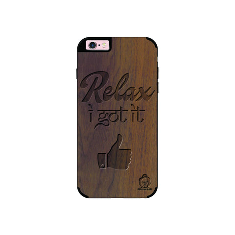 Wallnut Wood Sameer Edition for I Phone 6/6s