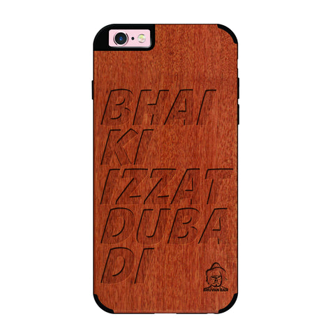 Rose Wood Izzat Edition For I phone 6/6s plus