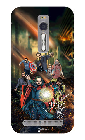 BB Saste Avengers Edition for Asus Zenfone 2