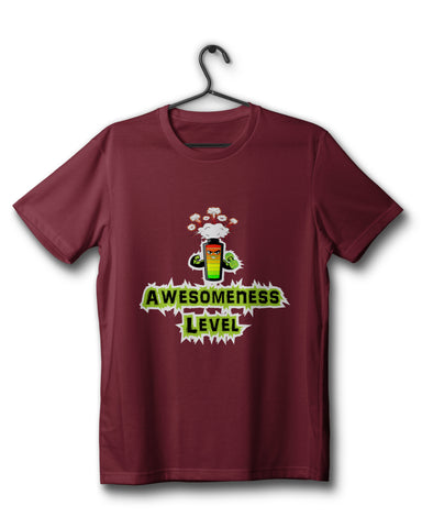 Awesomeness Level - Maroon