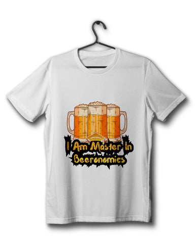 The Beer-o-nomics Edition - White Tee
