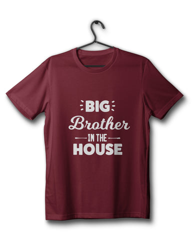 Brother In The House - Maroon