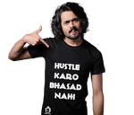 The Hustle Bhasad Tee - Black