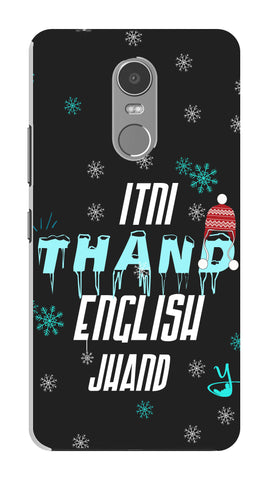 Itni Thand edition for Lenovo k6 note