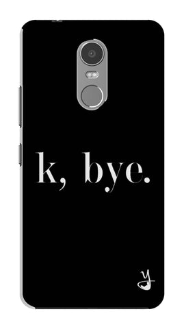 K BYE black for Lenovo K6 Note