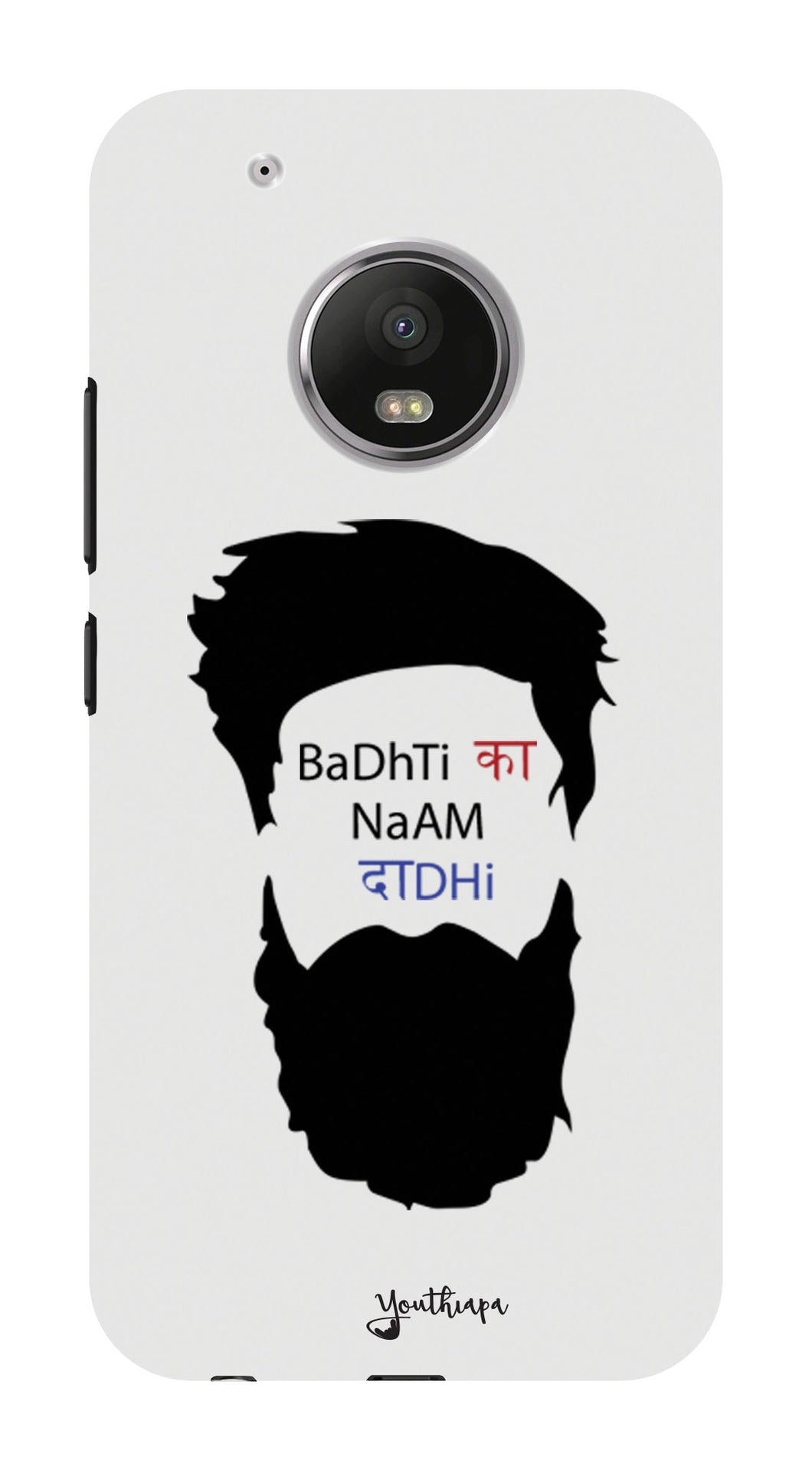 The Beard Edition WHITE for MOTO G5