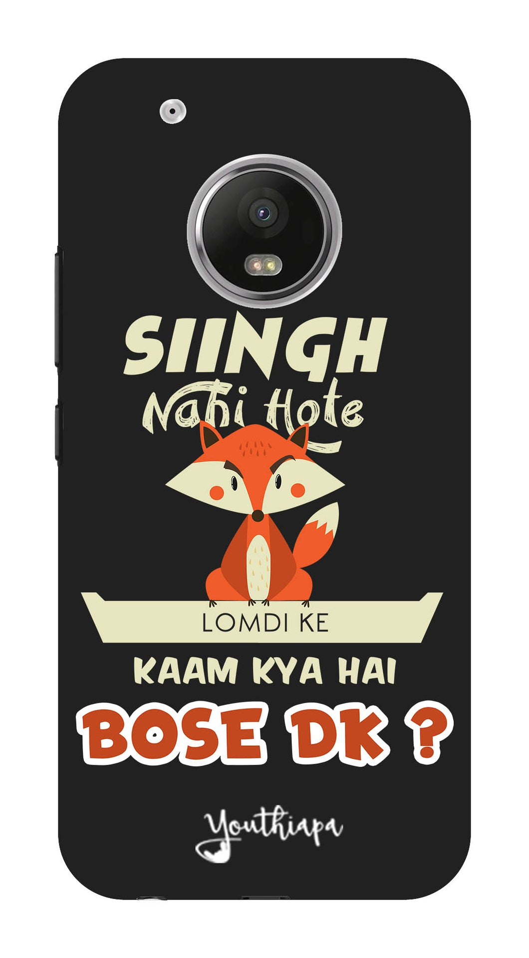 Singh Nahi Hote for Moto G5 Plus