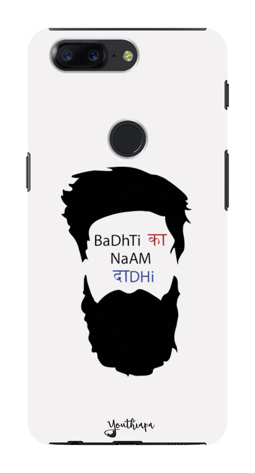 The Beard Edition WHITE for One Plus 5T