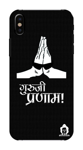 Guru-ji Pranam Edition for Apple I Phone XS Max