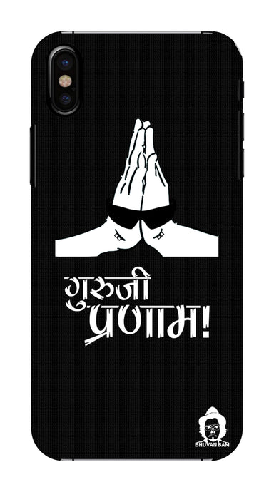 Guru-ji Pranam Edition for Apple I Phone X