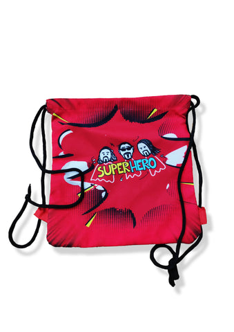 BB Super Hero Canvas Bag