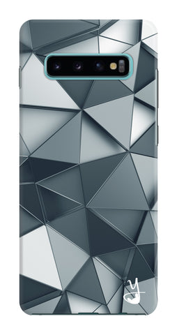 Silver Crystal Edition for Samsung Galaxy S10 Plus