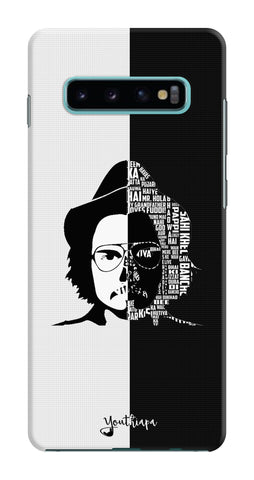 Dialogue Bazi B&W Edition for Samsung Galaxy S10 Plus